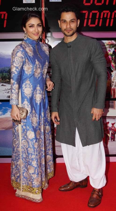 Soha Ali Khan with Kunal Khemu
