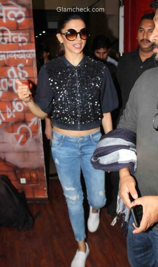 Style Check - Deepika Padukone Makes a Stylish Appearance at Red FM Mumbai