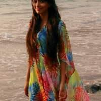 Summer Beach Outfit - Kaftan - Indian Youtuber