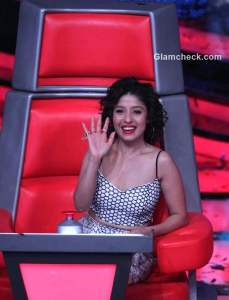 Sunidhi Chauhan, Mika Singh and Himesh Reshammiya unveil 'The Voice India'