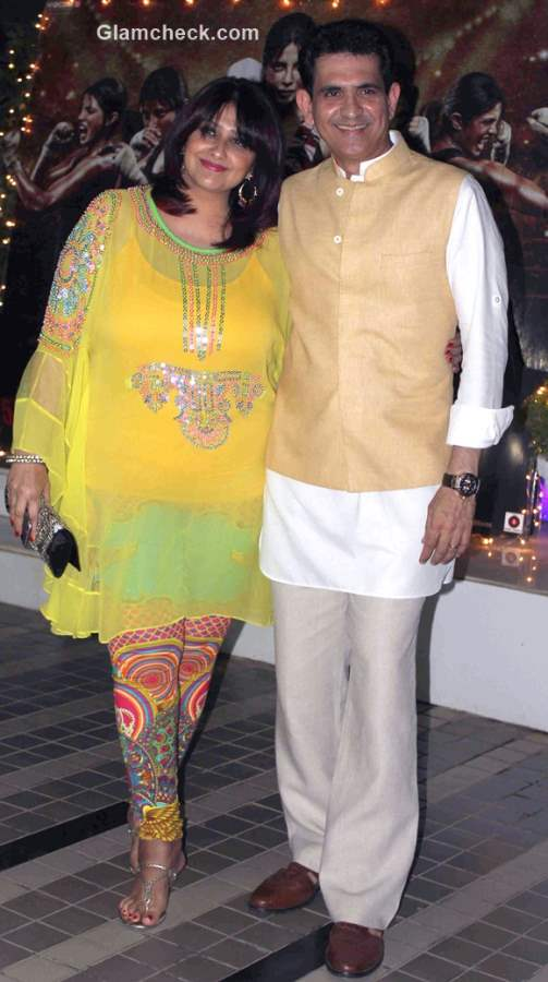 filmmaker Omung Kumar with wife Vanita