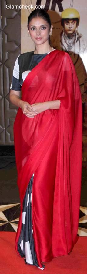Aditi Rao Hydari in Masaba Gupta Sari