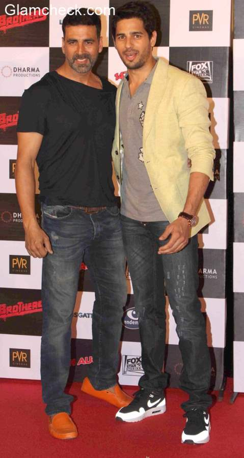 Akshay Kumar and Siddharth in Brothers