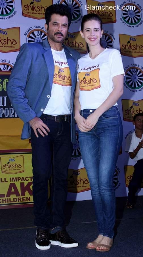 Anil Kapoor and Kalki Koechlin support P&G Shiksha