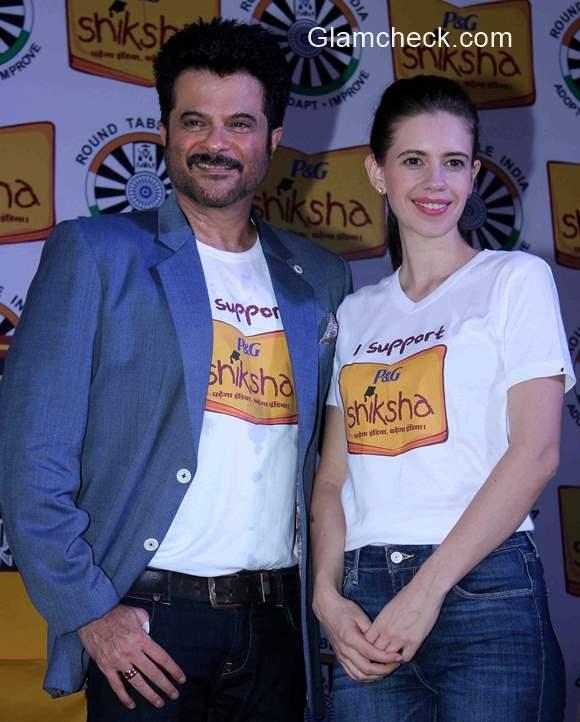 Anil Kapoor and Kalki Koechlin support PG Shiksha