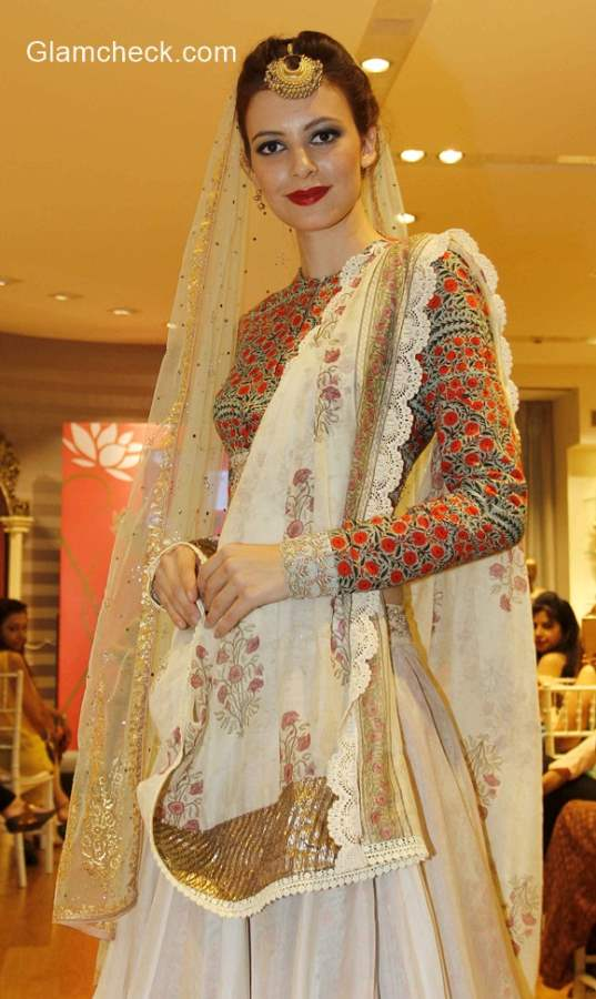 Anju Modi exclusive preview of Vogue Wedding Collection at AZA Store