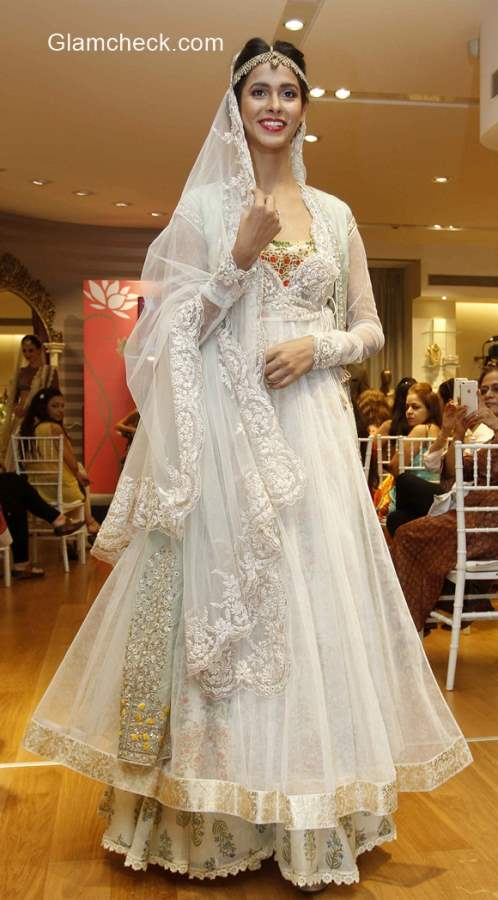 Anju Modi preview Vogue Wedding Collection at AZA Store