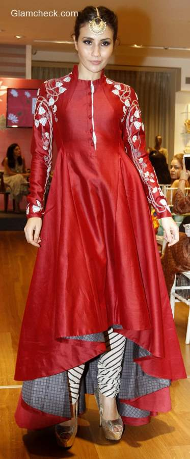 Anju Modi preview of Vogue Wedding Collection at AZA Store