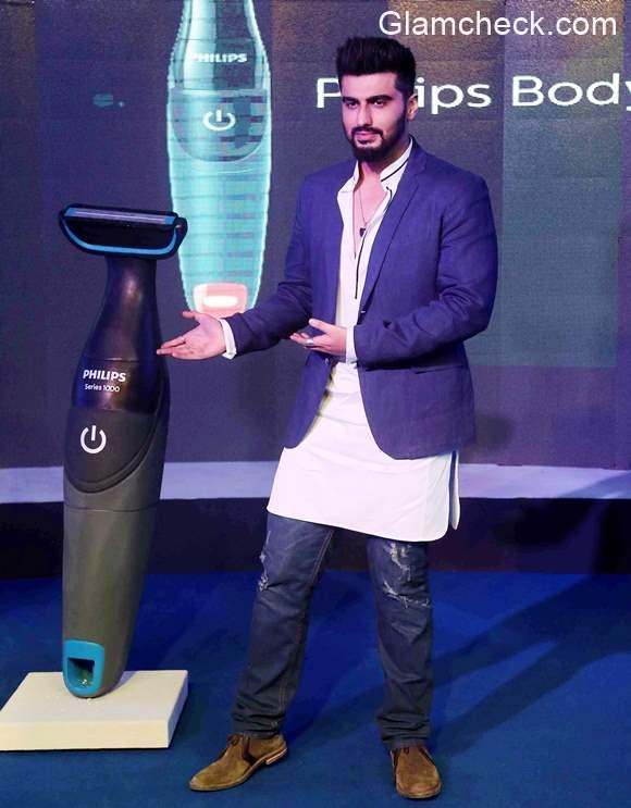 Arjun Kapoor for Philips Body Groom series 1000