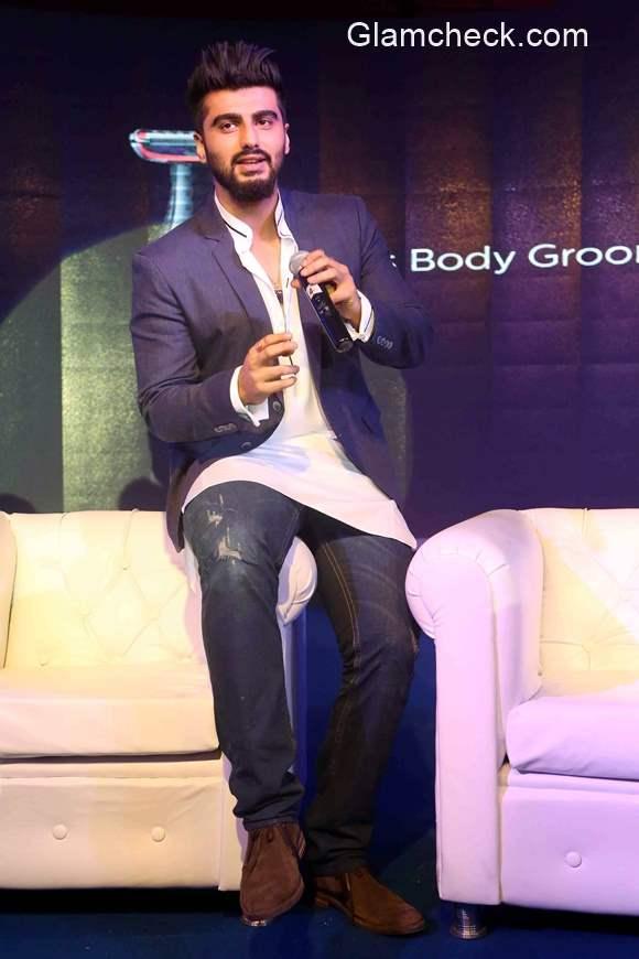 Arjun Kapoor launches Philips Body Groom series 1000