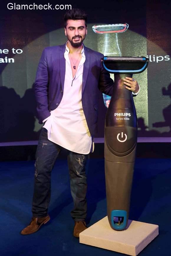 Arjun Kapoor launches the latest Philips Body Groom series 1000