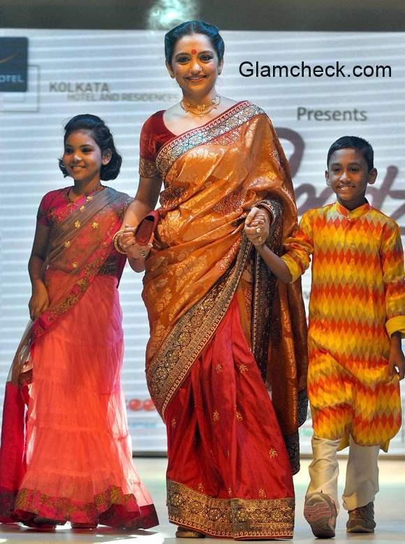 Bengali film actor June Malia