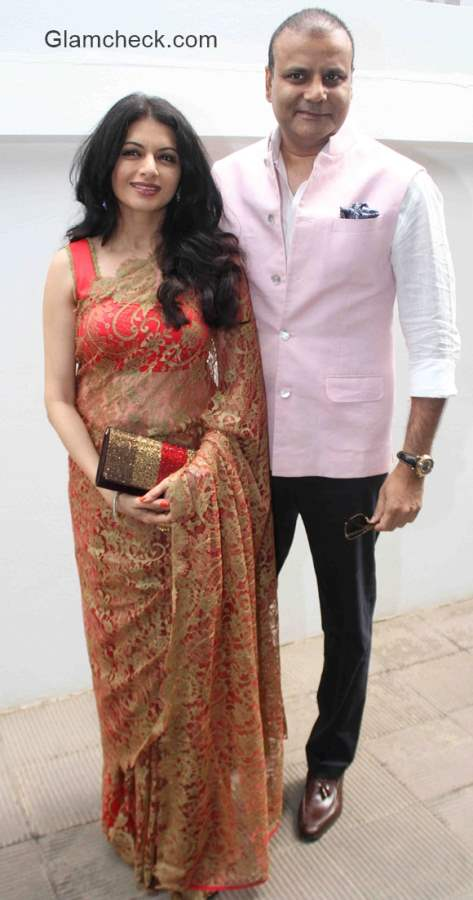 Bhagyashree with husband Himalaya