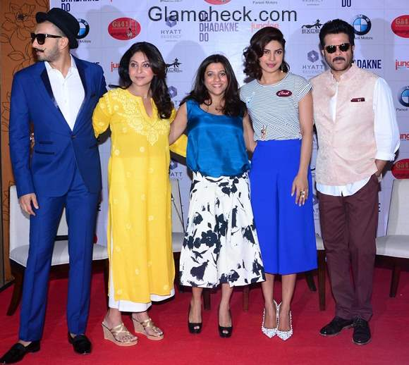 Dil Dhadakne Do Promotions in Ahmedabad
