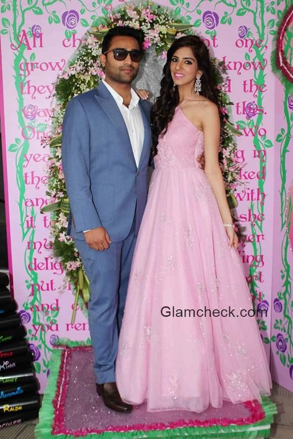 Fashion designer Nishka Lulla hosts pre-wedding brunch party with fiance Dhruv Mehra