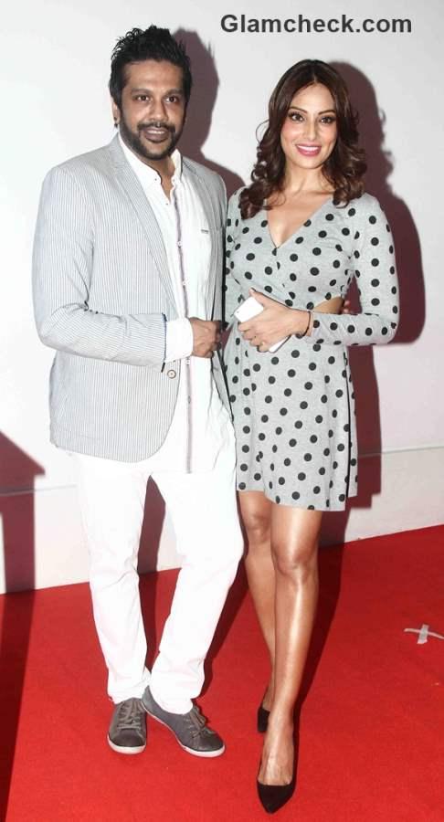 Fashion designer Rocky S and Bollywood actor Bipasha Basu