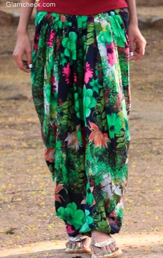 Floral Pants for Nature Camping