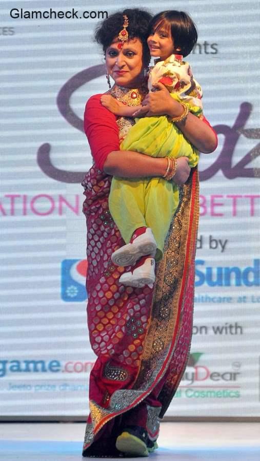 Indias first transgender college principal Manabi Banerjee