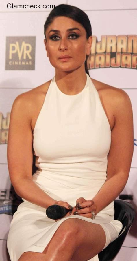 Kareena Kapoor in halterneck white dress