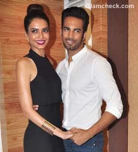 Karishma Tanna and Upen Patel promote Nach Baliye 7