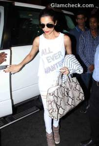 Celebs spotted at the Mumbai International Airport