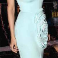 Malaika Arora Khan in blue dress 2015