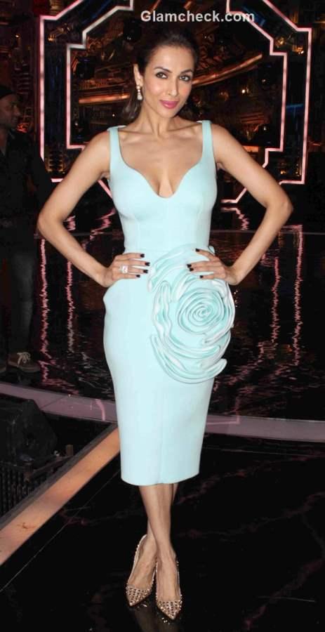 Malaika Arora Khan on the sets of Indias Got Talent