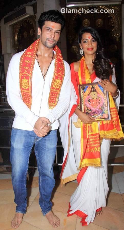 Mugdha Godse and Kushal Tandon in Romila