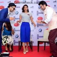 Ranveer Priyanka and Anil promote Dil Dhadakne Do in Ahmedabad