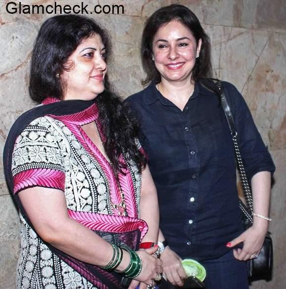 Sharmila Thackeray and Anjali Tendulkar