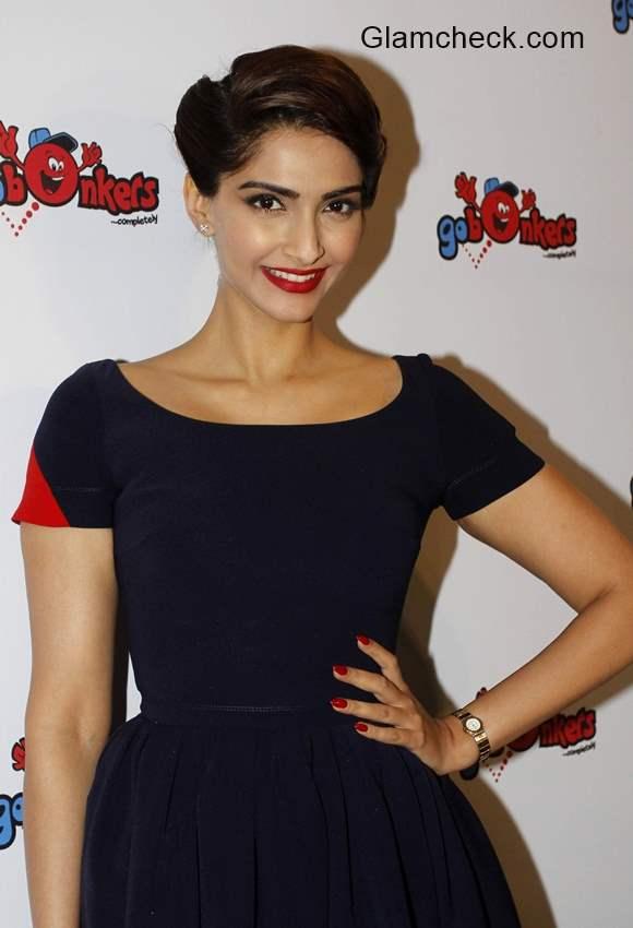 Sonam Kapoor launches Go Bonkers