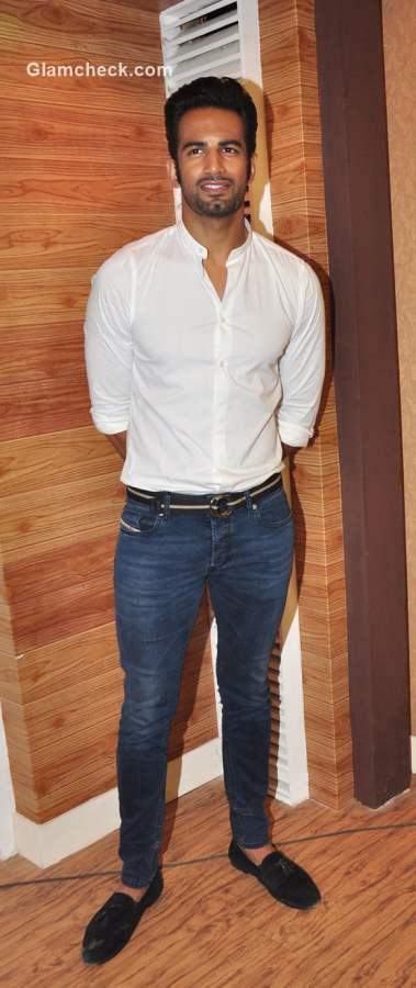 Upen Patel promotes Nach Baliye 7