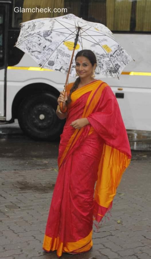 Vidya Balan in Saree 2015