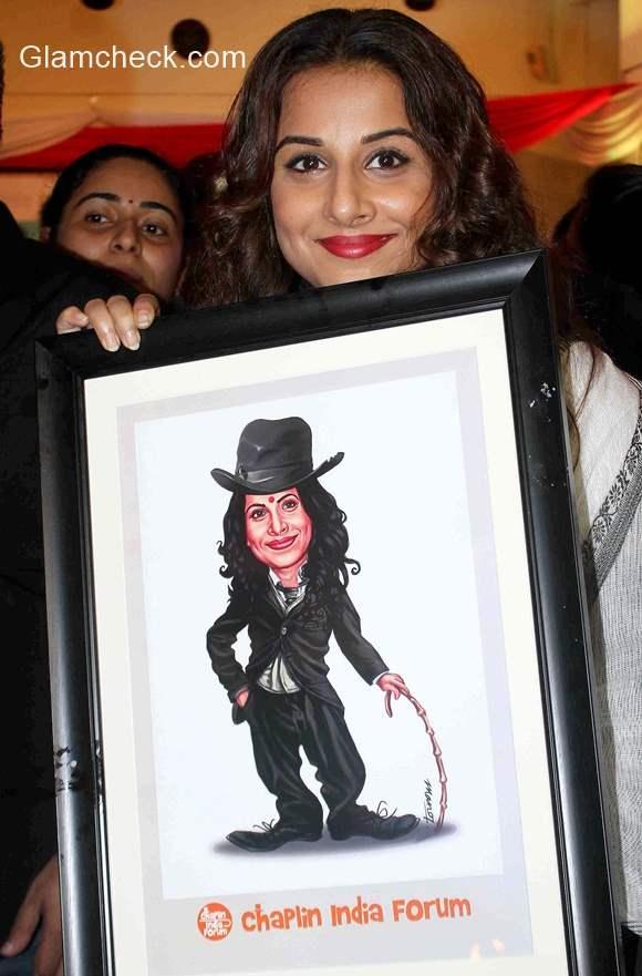 Vidya Balan inaugurates Chaplin Lines in Mumbai