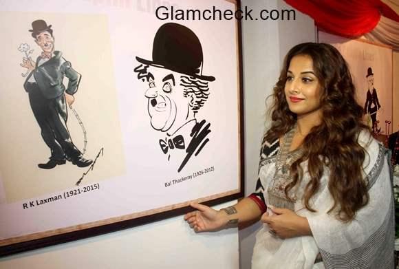 Vidya Balan inaugurates Chaplin Lines pics
