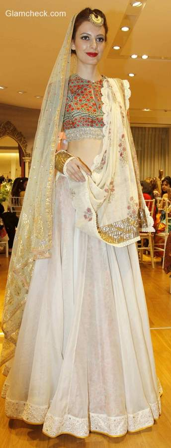 preview Vogue Wedding Collection at AZA Store by Anju Modi