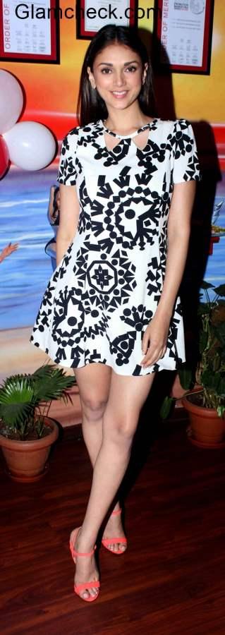 Aditi Rao Hydari at Guddu Rangeela Promotions