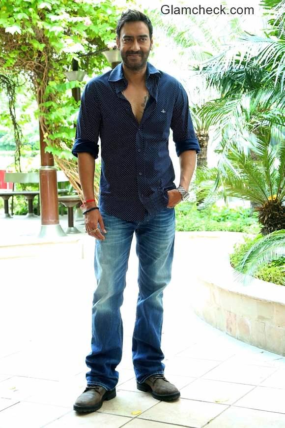 Ajay Devgan promotes film Drishyam
