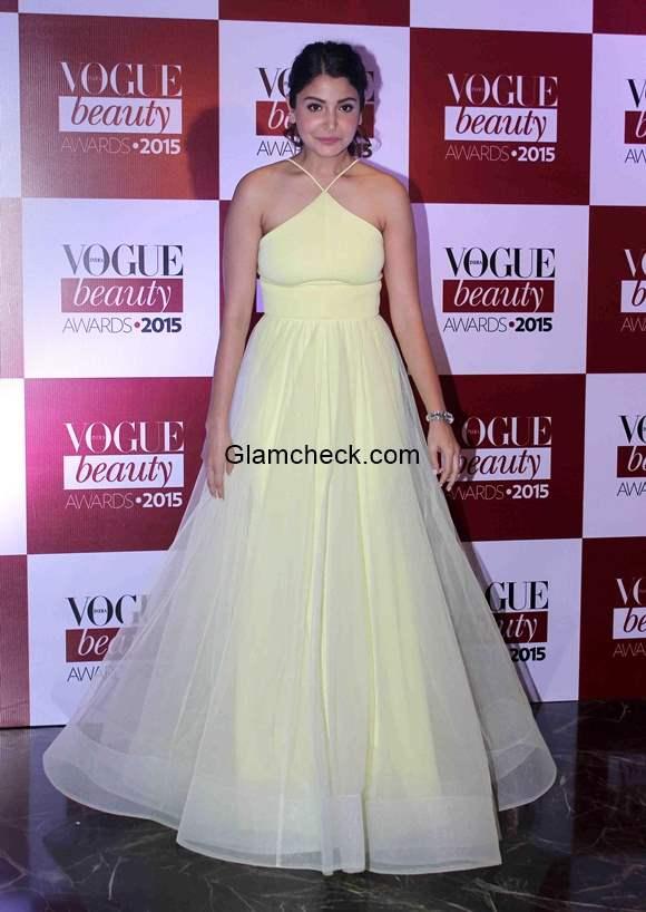 Anushka Sharma at Vogue India Beauty Awards 2015