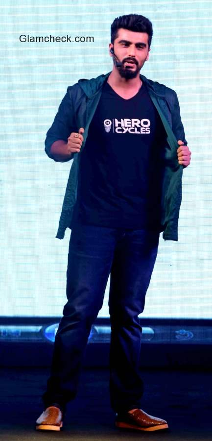 Arjun Kapoor Launches AK celebrity sports cycle from Hero Cycles