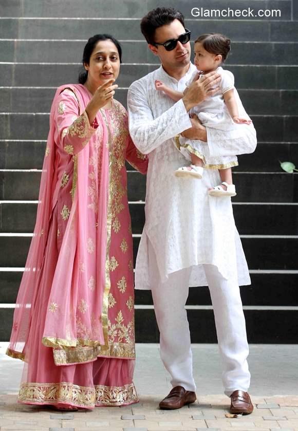 Imran Khan his daughter Imara Malik Khan and mother Nuzhat Khan