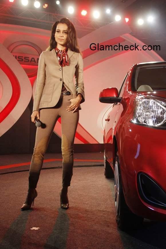 Kangana Ranaut at Nissan Micra X-Shift Launch