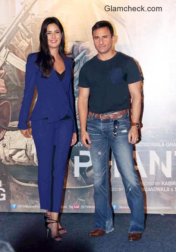 Katrina Kaif and Saif Ali Khan in Phantom