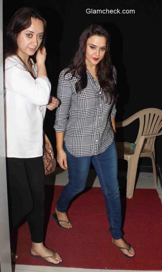 Preity Zinta 2015