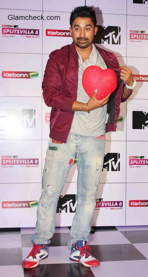 Rannvijay Singh at the press conference of MTV Splitsvilla 8