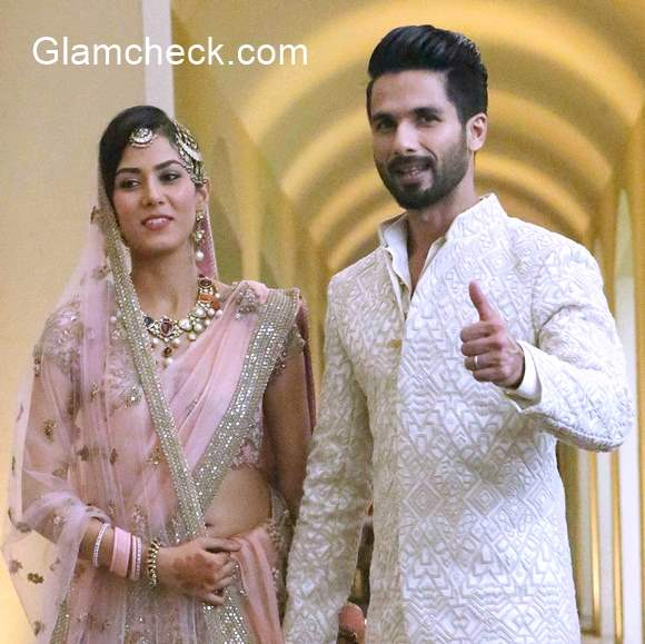 Shahid Kapoor Mira Rajput Wedding Pics