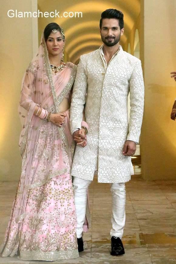Shahid Kapoor Mira Rajput Wedding Pictures