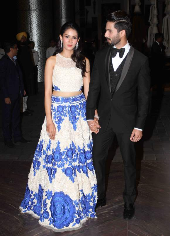 Shahid Kapoor and Mira Rajput Wedding Reception