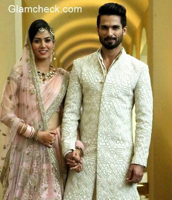 Shahid Kapoor and Mira Rajput Wedding