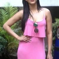 Shruthi Haasan in Pink Maxi Dress